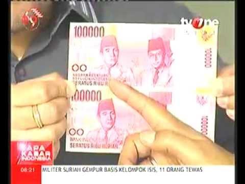 Sosialisasi Uang Baru Pecahan 100 Ribu Rupiah