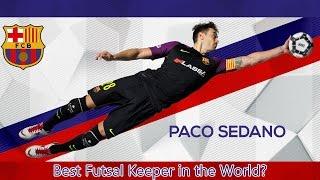 PACO SEDANO – FC Barcelona Futsal Goalkeeper – Best Futsal Goalkeeper