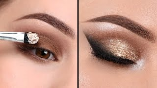 AFFORDABLE NEUTRAL Smokey Eye - Makeup Tutorial