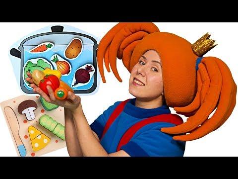 Готовим суп с Царевной! 🥣 Поиграйка с игрушками - Видео для детей - Жила-была Царевна