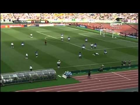 England v Brazil 1-2 World Cup 2002