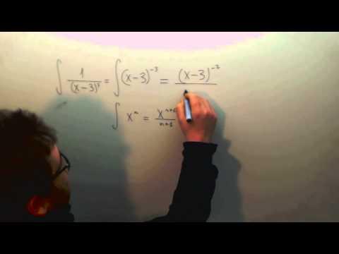 Integral 1/(x-3)3 Selectividad Matematicas Academia Usero Estepona
