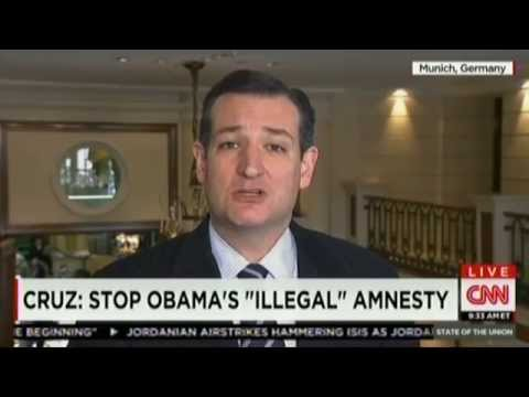 Sen. Ted Cruz on CNN's State of the Union from the Munich Security Conference