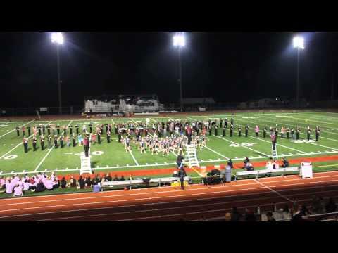 Cedarcrest High School half time show 10/10/2013