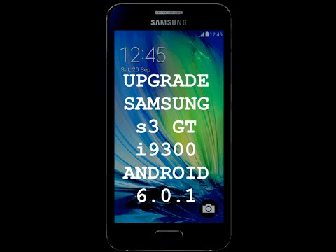 This is HOW  to UPGRADE THE SAMSUNG S3 GT i9300 to ANDROID 6 Marshmallow (Links &  Tools)