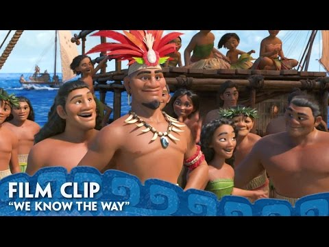 We know the Way clip - Moana