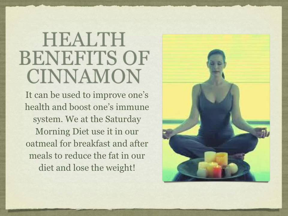 ... Use Cinnamon Benefits for FAST Weight Loss for Women & Men - YouTube