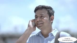 Shopno jabe bari amar by Milon Mahmud   স্বপ্ন যাবে বাড়ি আমার   Grameenphone   Gp Song 2016 New
