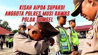 Polisi Ini Menangis Tersedu Di Musi Rawas - Sumsel