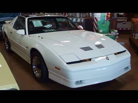1989 Pontiac Turbo Trans Am Pace Car 3,xxx Original Miles 20th Anniversary