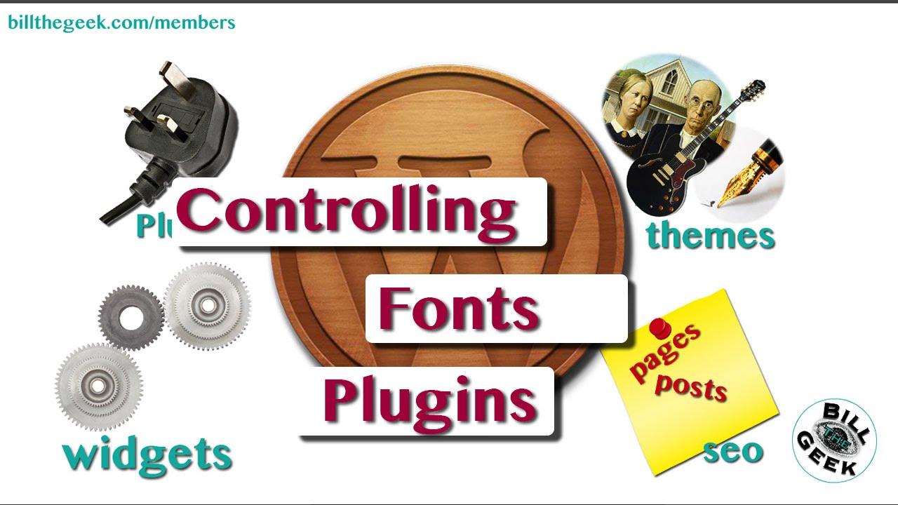 how to add font wordpress