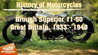 "Brough Superior 11-50 (Great Britain) Trial by ""The Motorworld by V.Sheyanov"" (Russia)"