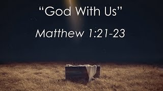 God With Us (12/22/19)