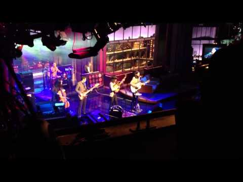 "The Avett Brothers ""February Seven"" live David letterman show!"