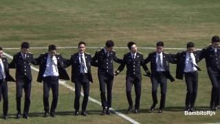 최강창민 & 동해 170402 아산 무궁화 프로축구단 서울경찰홍보단 공연 리허설 3