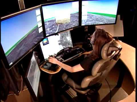 UAV Predator / Reaper target destruction GCS (Ground Control Station) Operations