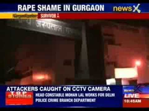 Rape Shame In Gurgaon video