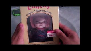 Unboxing Chucky: Complete 7-Movie Collection(Blu Ray)