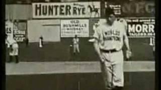 Christy Mathewson pitching footage