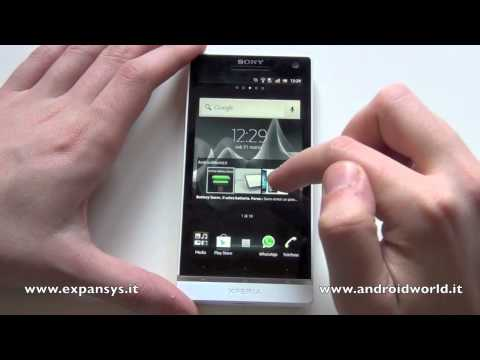 Sony Xperia S. la recensione completa by AndroidWorld.it