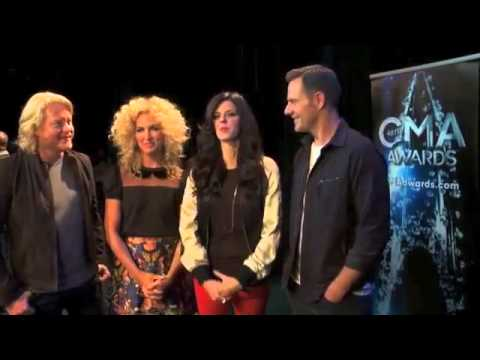 Little Big Town on their CMA Awards Nomination