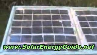 How to Build Your Own Home Made SOLAR PANEL to Generate FREE Electricity