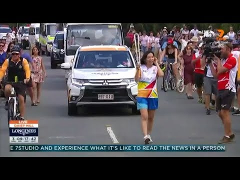 Dami Im Brings The X Factor To The GC2018 Queen's Baton Relay