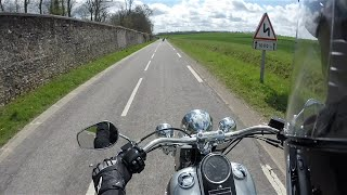 Test Riding the Harley Davidson Softail Deluxe FLSTN