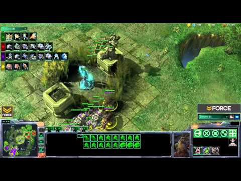 StarCraft 2 - 2v2 MaNa [P] ThorZain [T] vs Kas [T] Aristeo [Z] G1 (Commentary)