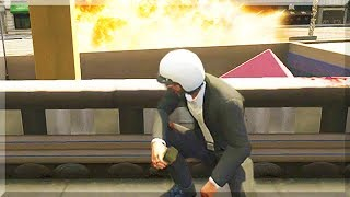 GTA 5 Funny Moments - Impossible Race Gone Wrong - (GTA V Online Stunts & Race)