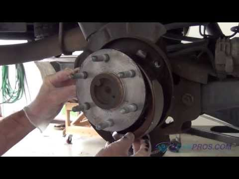 Parking Brake Shoe Replacement 2000-2013 Chevrolet Tahoe/Suburban