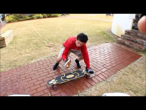 Trick Tip: Shuv Cross Step