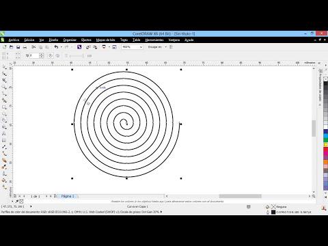 Curso Introducción a CorelDraw X6 - 34 Las Herramientas Polígono, estrella y espiral