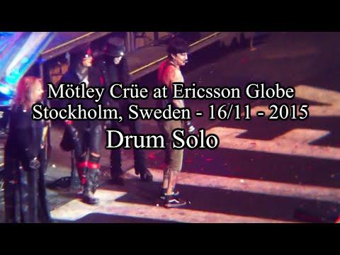 Mötley Crüe at Ericsson Globe - 16/11/15 - Drum Solo