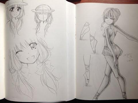 Manga/Anime Sketchbooks & Drawings 2014