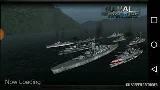 Naval Frontline HMS HOOD gameplay
