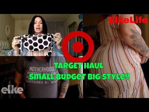 Review: TARGET HAUL for Small Budget Big Style Curvy Plus Size| Elke Life