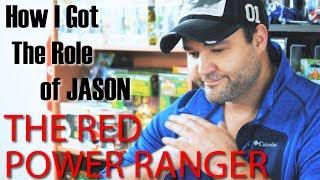 How I Got The Role Of Jason Lee Scott, The Red Power Ranger -  AUSTIN ST. JOHN: THE RED RANGER