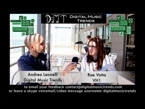 Rae Votta, Social Media Manager and Strategist at VH1 &#8211; DMT @ SXSW 2013