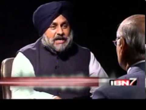 Teekhi Baat with Sukhbir Singh Badal_Prabhu Chawla_IBN7