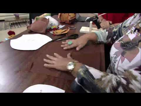 Mulher.com 07/02/2013 Marlei Fosco - Coruja peso de porta  parte1