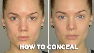How to conceal (with subs) - Linda Hallberg Makeup Tutorials