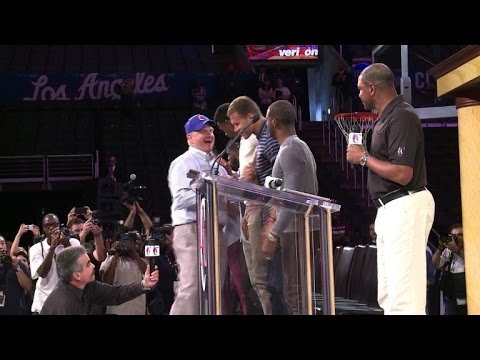 LA Clippers fans welcome new owner Steve Ballmer