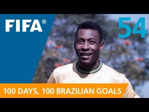 54 Days to GO-AL! Pele (Mexico 1970)