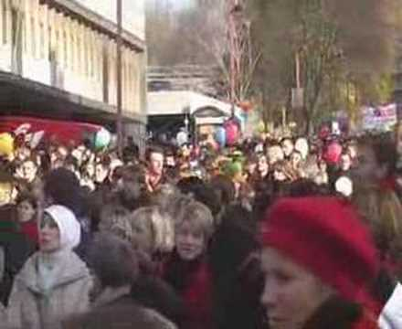 Marche pour Sadia à Charleroi thumbnail