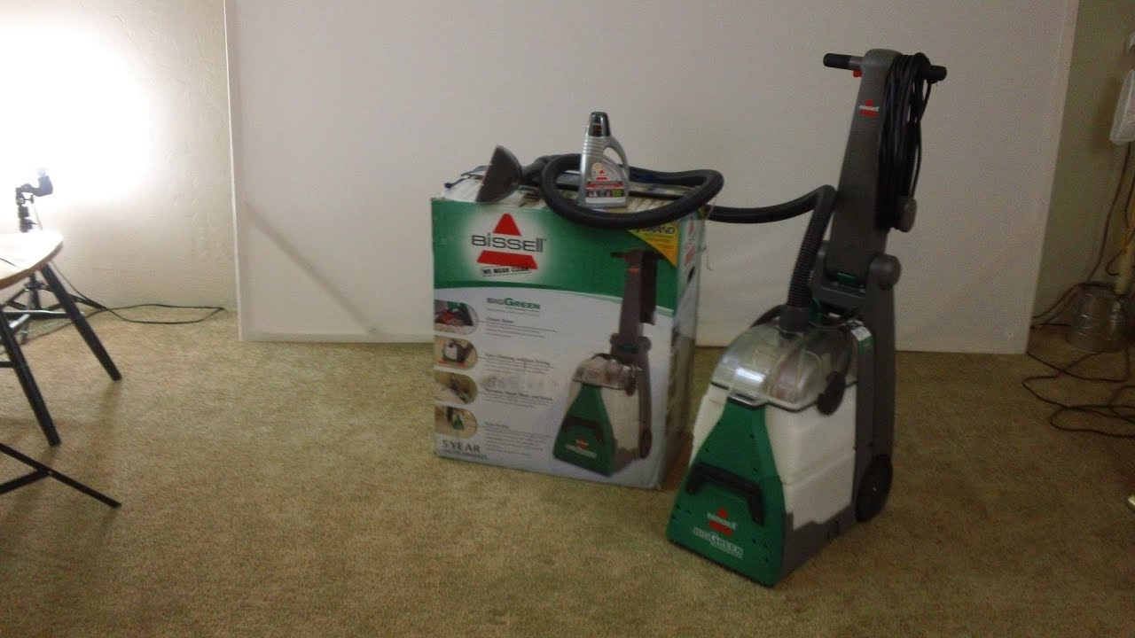 Bissell Carpet Cleaners Big Green Machine 86t3 Unboxing