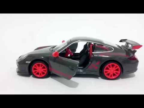 Miniatura Porsche 911 Gt3 Rs 1:32 California Action Som/luz