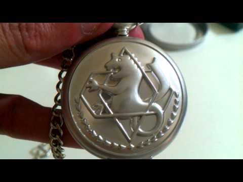 Fullmetal Alchemist Cosplay Pocket Watch - Infinity Reviews