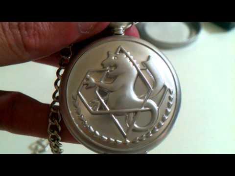 Fullmetal Alchemist Cosplay Pocket Watch - Infinity Reviews