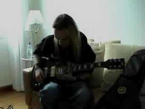 Alexi Laiho guitar lesson